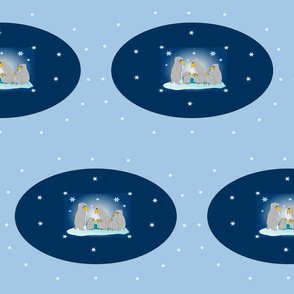 penguin-family-on-Ice-big