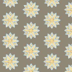 Mandala of Paradise (Grey)