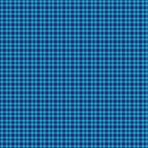 Mini Blue Plaid