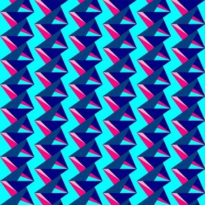 BluePink_Abstract - half drop