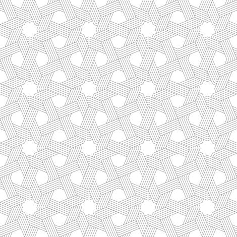 octagonal star weave in 5