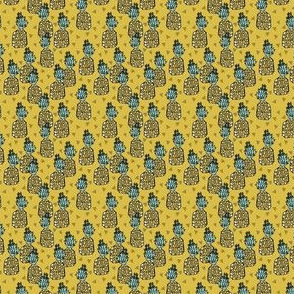 Pineapple - Mustard Xtra Tiny Version by Andrea Lauren