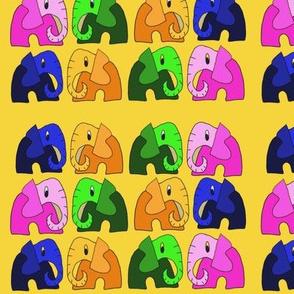 Muchos elefantes