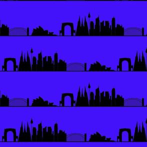 skyline_australian_city