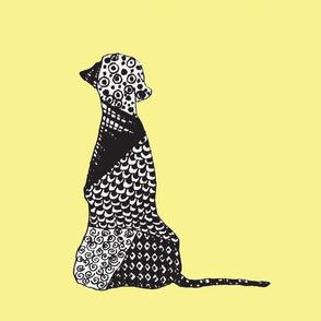 Big Dog - Yellow & Black