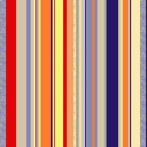 Zucchini Garden Stripe