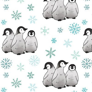 Penguins and Snowflakes