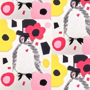 Flower Power Penguin
