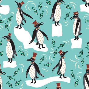 Fancy Penguins