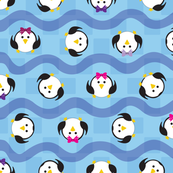 Tumbling Penguins