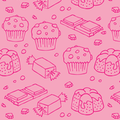 Pinks sweets