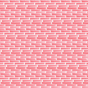 Pink Red Stack Strokes - Small