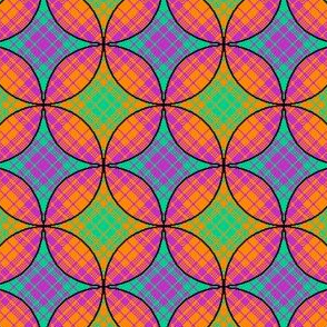 Stained Glass Plaid 02