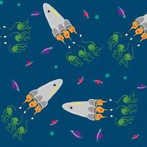 Rocket & Friends