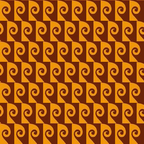 Waves Brown Tan
