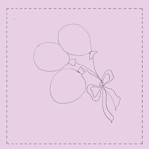 Balloon Bouquet (pink background)