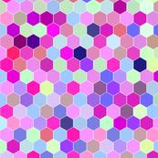 Honeycomb Magenta Shimmer