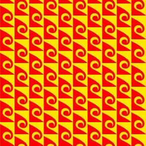 Waves Orange Yellow 3