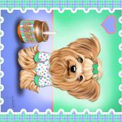 Peanut Butter Lover Quilt Panel