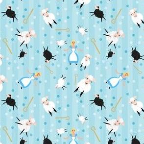 Little Bopeep & Sheep Blue