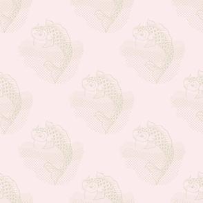Koi Repeat Pink Small