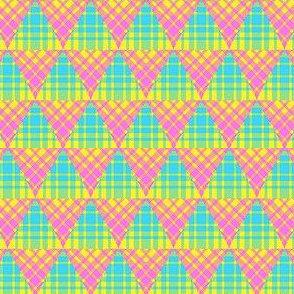Plaid Triangles 03