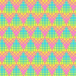 Plaid Triangles 03