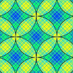 Stained Glass Plaid 03