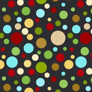 Pretty Polka Dots Chalkboard