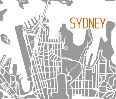 Modern Sydney Map