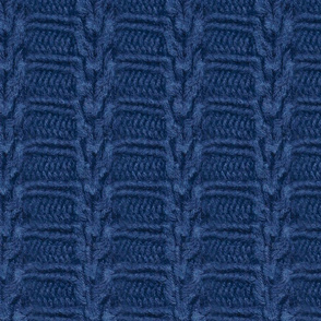 dark blue sweater trim stripe