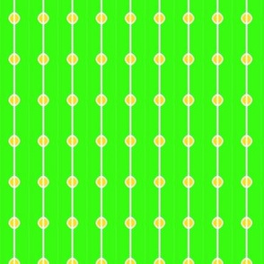 Beads Green Yellow