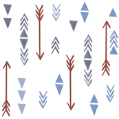 arrows and triangles