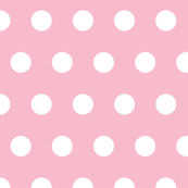Circles white on pink 182