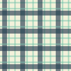Creamy Plaid