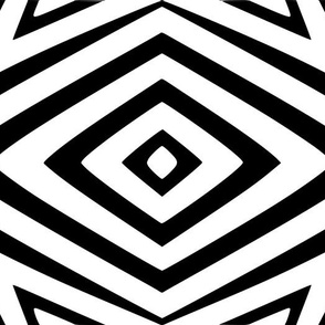 Tribal Diamonds and Squares