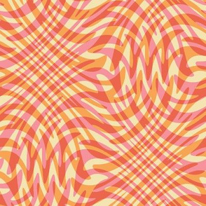 dotpink feather swirl