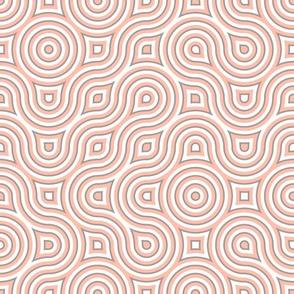 Modern Vertigo coral pink