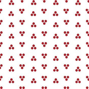 Dapper Dot - Red and White