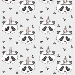 panda blush SMALL PRINT - elvelyckan