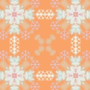 Dainty Snowflake Pattern for Penguins