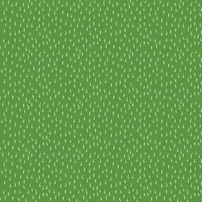 Sleeping vegetables - coordinate green