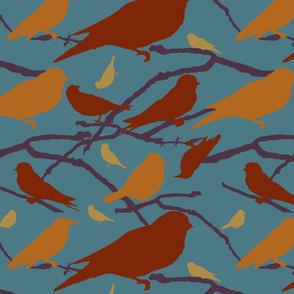 Mulit-colored birds, 2