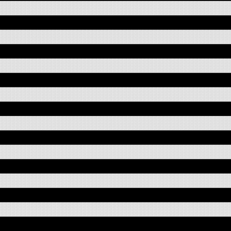 White Burlap Textured and Flat Black Stripes (horizontal)