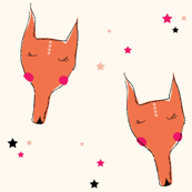 Sleeping Fox (small)