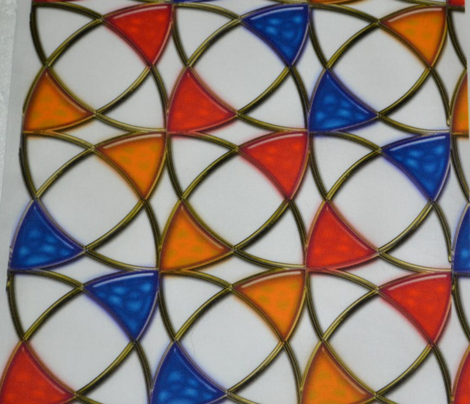 Stained Glass Circles