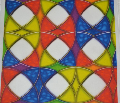 Stained Glass Circles 2