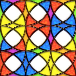 Stained Glass Circles 3