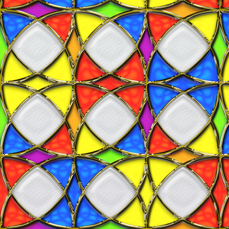 Stained Glass Circles 4