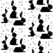 Geo Bunny Grey